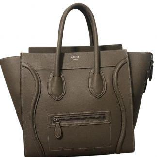 Best Cheap Céline Designer Replica Luggage Mini Souris Drummed Leather  Satchel celine handbag e8eab30ea5fab